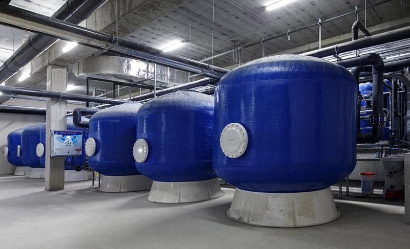 Installation de traitement d'eau Bobion et Joanin