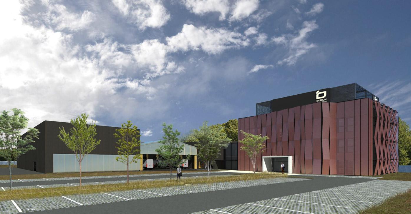 Moderne et performant, le futur siège social de BOBION & JOANIN Groupe BTK